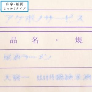 チェーンストア統一伝票 印字・紙質しっかりタイプのサンプル10枚目