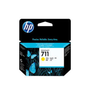 HP711 インクカートリッジ イエロー 29ml CZ132A
