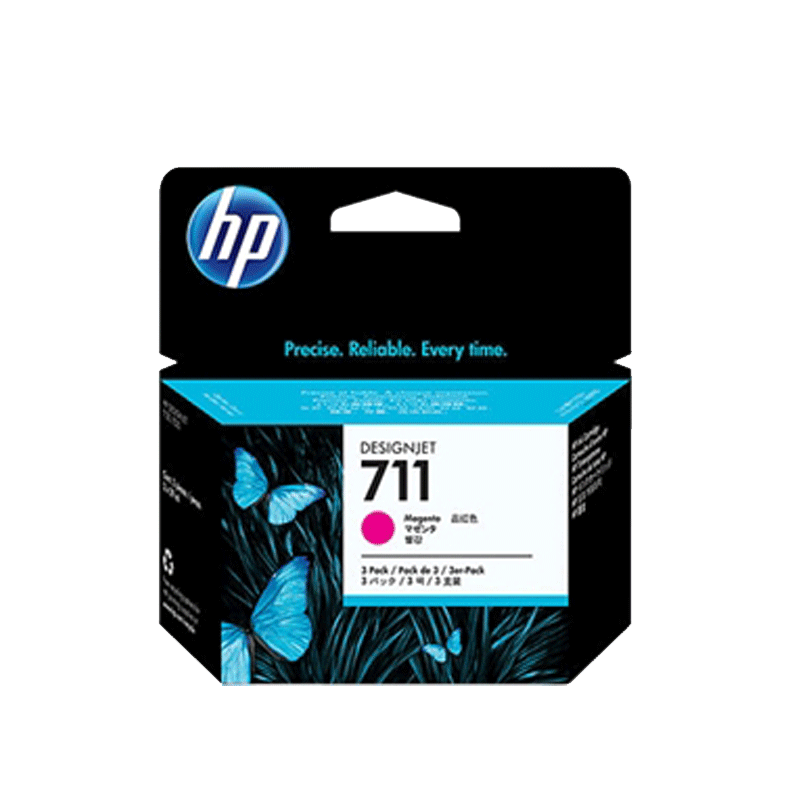 HP711 インクカートリッジ マゼンタ 29ml x3 CZ135A