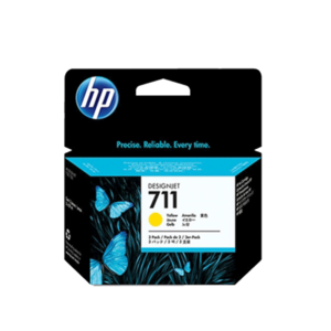 HP711 インクカートリッジ イエロー 29ml x3 CZ136A