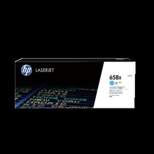 トナー HP 658X (W2001X) シアン